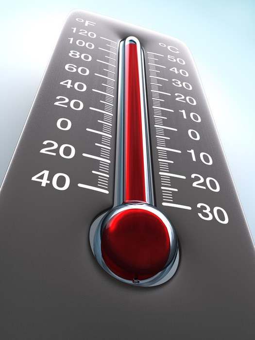 How Warm Temperatures Affect Product Valuation